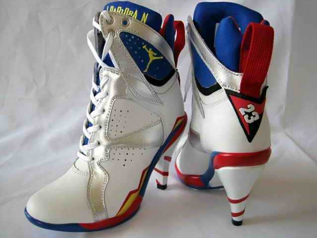 ImNotAToy Exclusive  Olympic 7 Jordan heels  a9d1ea11e