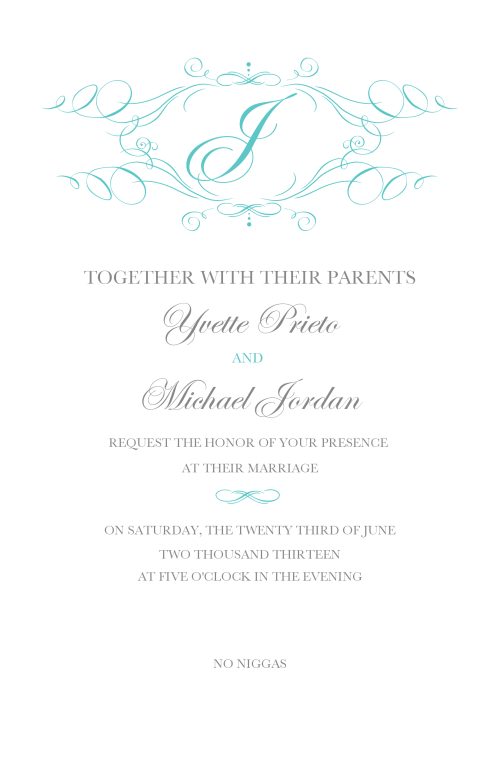 jordan invitaion